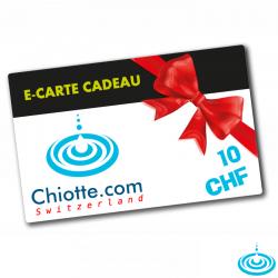E-CARTE CADEAU 010 CHF