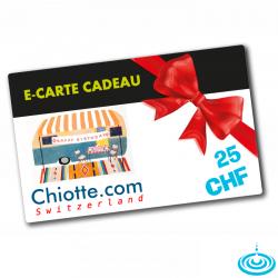 E-CARTE CADEAU 025 CHF