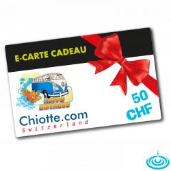 E-CARTE CADEAU 050 CHF