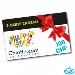 E-CARTE CADEAU 100 CHF