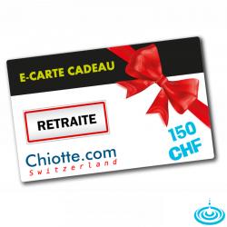 E-CARTE CADEAU 150 CHF